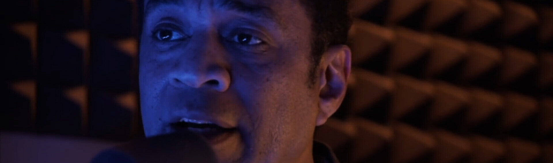 Picture of Harry Lennix performing as DJ Terrance Palmer.